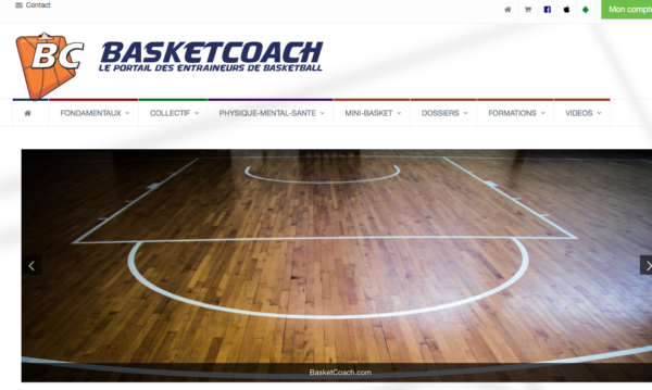 logo Basket coach