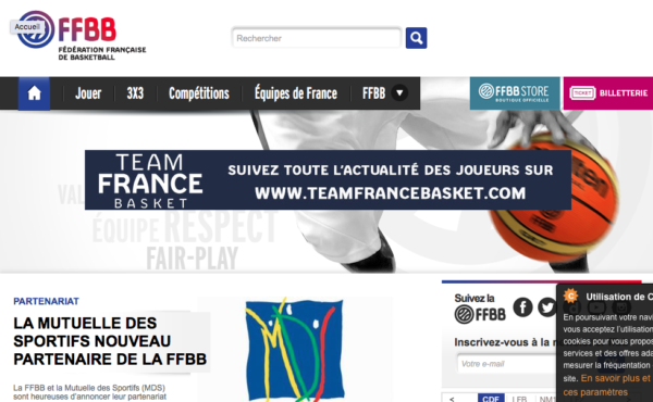 logo Fédération Française de Basket Ball